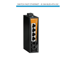SWITCH INDUSTRIAL FAST ETHERNET IE-SW-BL05-4TX-1SC