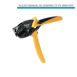 ALICATE MANUAL DE CRIMPAR CTF PV WM4 P/PV