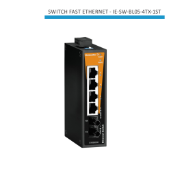 SWITCH INDUSTRIAL FAST ETHERNET IE-SW-BL05-4TX-1ST