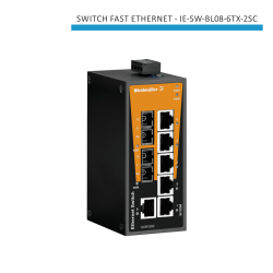 SWITCH INDUSTRIAL FAST ETHERNET IE-SW-BL08-6TX-2SC