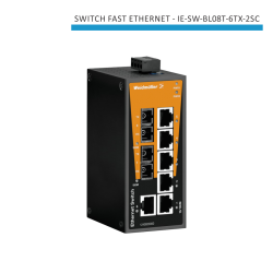 SWITCH INDUSTRIAL FAST ETHERNET IE-SW-BL08T-6TX-2SC