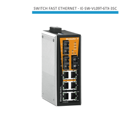 SWITCH INDUSTRIAL FAST ETHERNET IE-SW-VL09T-6TX-3SC