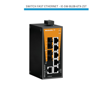 SWITCH INDUSTRIAL FAST ETHERNET IE-SW-BL08-6TX-2ST