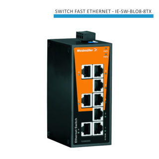 SWITCH FAST ETHERNET IE-SW-BL08-8TX