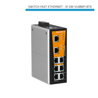 SWITCH INDUSTRIAL FAST ETHERNET IE-SW-VL08MT-8TX