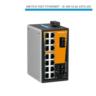 SWITCH INDUSTRIAL FAST ETHERNET IE-SW-VL16-14TX-2SC