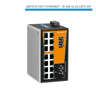 SWITCH INDUSTRIAL FAST ETHERNET IE-SW-VL16-14TX-2ST